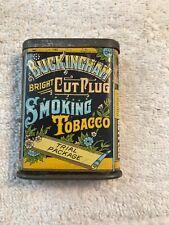 Buckingham Smoking Tobacco Trial Package Tin—Very Good Condition
