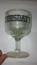Tuesday's Large Margarita Glass