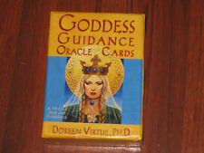 Goddess Guidance Oracle Cards by Doreen Virtue PhD, 44 Card Deck with Guidebook