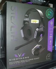 STEALTH XP-Nighthawk Wireless Gaming Headset PS4, Xbox One, PC NEW SEALED