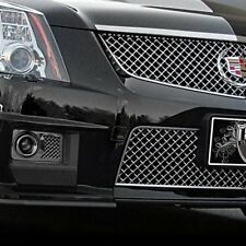 For Cadillac CTS 11-13 E&G Classics 2-Pc Black Ice Mesh Brake Duct Cover Grilles