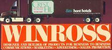Horst Crest Hil Hilton Hotel '90 Winross Truck