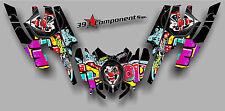Arctic Cat Firecat Sabercat F5 F6 F7 2003-2006 Graphics Decal Joker Graffiti