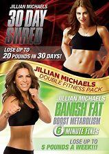 Jillian Michaels 30 Day Shred / Banish Fat, Boost Metabolism 2 [DVD] NEU FITNESS