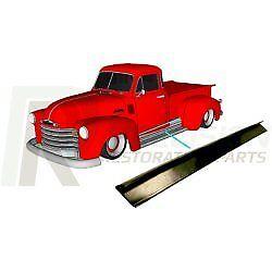 47-54 Chevy/GMC Truck Running Board Gasket Rubber Trim Seal L & R Pair