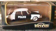 CITROEN DS POLICE PIE VEREM 1/43 POLIZEI POLITIE SOLIDO BLACK WHITE NOIR BLANCHE