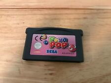Puyo Pop Gba Game Unboxed