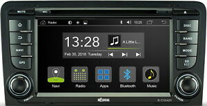 """Pour Audi S3 8P RS3 8PA 7 """" App Android Voiture Radio Wifi DVD CD USB Bluetooth"""