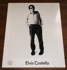 ELVIS COSTELLO LESS THAN ZERO ORIGINAL AUTHENTIC STIFF PROMO 10x8 PHOTO 1977