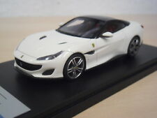 LookSmart - Ferrari Portofino - Bianco Avus with Nero DS Roof - LS480F - 1:43