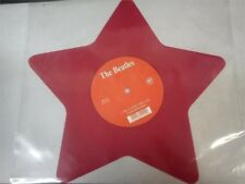 """The Beatles - Love Me Do (Star Red-Shaped 9 """" Vinyl 45rpm / Single ) 2 Piece"""