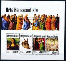 [1176] Mozambique 2014 Art/Painting good Sheet very fine MNH