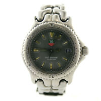 TAG HEUER SEL LINK S99.213K PROF GRAY DIAL 200M STAINLESS STEEL MIDSIZE WATCH