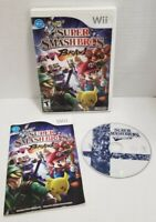 Super Smash Bros. Brawl (Nintendo Wii, 2008)Tested Works Great W/Manual FREE S&H