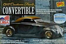 Lindberg  1937 Custom Ford Convertible 1:25 Scale  Model Kit MIB