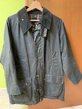 barbour nero giacca taglia 42