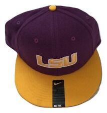 77ed1595ab1 NWT New LSU Tigers Nike Best True Purple Size 7 1 4 Fitted Hat Cap