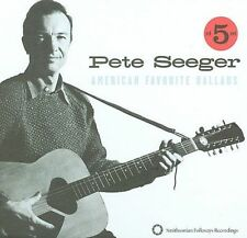 American Favorite Ballads, Vols. 1-5 [Box] by Pete Seeger (CD, Oct-2009, 5 Discs, Smithsonian Folkways Recordings)