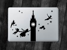 Peter Pan Sticker Big Ben Decal Apple MacBook Mac iPad Laptop Car Window