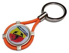 Portachiavi ABARTH auto moto keyring MADE IN ITALY idea regalo OR
