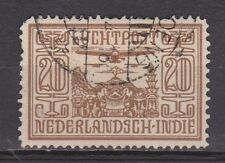 Nederlands Indie Indonesie 7 used Netherlands Indies luchtpost airmail 1928