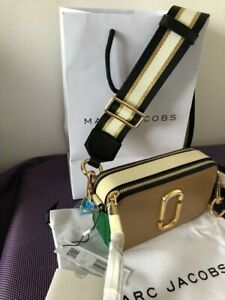 MARC JACOBS Snapshot Small Camera Bag  sandcastle multi Brand new  hot sales