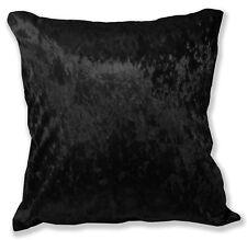 Mv36a Black Diamond triturados Algodón Terciopelo Cojín cover/pillow Funda Tamaño Personalizado