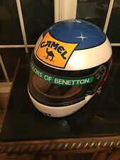 Michael Schumacher, F1 F-1 Formula 1 Benetton BAuthentic SIgned 1:1 Helmet 1992