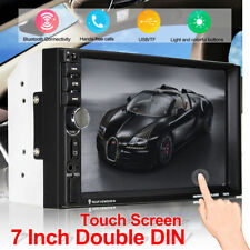 Car Touch LCD Screen Stereo Audio Radio 7 inch 2Din HD  MP5 Player Bluetoot 1080