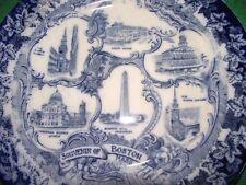 Platters c.1840-c.1900 Blue & White Transfer Ware Pottery