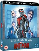 Ant-Man Steelbook 4K Ultra HD & Blu-ray! New Free Delivery!