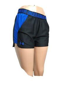 """Under Armour Women MEDIUM Athletic Shorts elastic waist Inseam 3"""" (#p"""