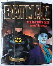 BATMAN 1989 MOVIE ACTION FIGURE COLLECTORS CASE (Michale Keaton, Jack Nicholson)