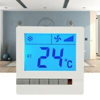 Controlador de temperatura del termostato de calefacción digital LCD con
