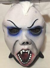 Máscara Facial Spooky Halloween Vestido de Disfraz Adulto Máscara de película de terror