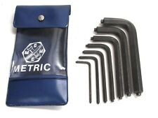 GEHAWE 7-pc. METRIC PINNED SAFETY SECURITY HEX WRENCH SET, 3mm-12mm, W. GERMANY