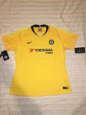 Nike Chelsea Football Club Jersey Yellow 919217-720 Women's Size XL New