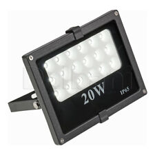 20W SMD Outdoor LED Flood Light 6000K Daylight IP65 Black Waterproof