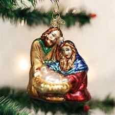 *Holy Family* Nativity Jesus [10207] Old World Christmas Glass Ornament - NEW