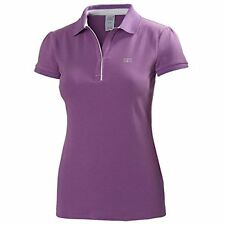 HELLY HANSEN Womens Powder Purple Breeze Polo Shirt Top Ladies XS 8 BNWT