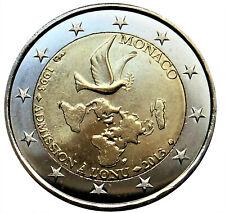 Monaco 2 euro 2013, 20 jaar VN, UNC uit rol