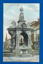 EARLY POSTCARD VALENTINES SERIES THE FOUNTAIN DUDLEY STAFFORDSHIRE