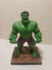 "Marvel Comics Incredible Hulk 12"" Statue Statuette Figurine + Box cartes Inc 2003"