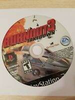 Burnout 3: Takedown - PlayStation 2 - PS2 - Disc Only - Tested - Fast Free Ship!