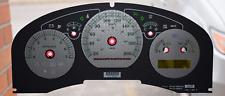 2006 - 2007 FORD F150 -HARLEY DAVIDSON GAUGE OVERLAY/ FACEPLATE  KM/ H