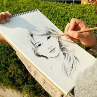 Paper Sketch Book Set For Watercolor Drawing Art Sketchbook 30 Sheets Craft B6O7