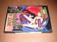 Urusei Yatsura - Movie 3: Remember My Love (DVD, 2004) NEW