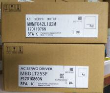MHMF042L1U2M+MBDLT25SF AC Servo motor drive kits 60mm 400w 3000rpm 1.27Nm