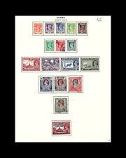 VINTAGE: BURMA 1938  OGLH SCOTT #P2  $231.45 LOT #1938P2