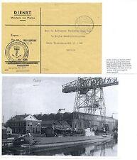 NEDERLAND 1951 DIENST CV VAN ONDERZEEBOOT O 21  SUBMARINE + DOC   F/VF
